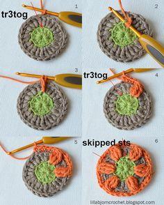 Circles of the Sun Mystery CAL 2015 - overlay crochet - Block 4 #free crochet pattern by LillaBjornCrochet