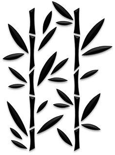 Bamboo stencil - Bamboo stencil – Source by veflope - Stencil Patterns, Stencil Painting, Stencil Designs, Fabric Painting, Stenciling, Silhouette Portrait, Border Design, Kirigami, Stencil Templates