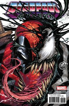 Deadpool: Back in Black #1 (2016) KRS Comics Exclusive Variant Cover by Tyler Kirkham