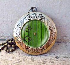 The Hobbit Hole Door Necklace