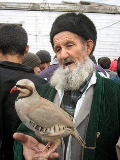 Dushanbe, Tajikistan market  Good Bird