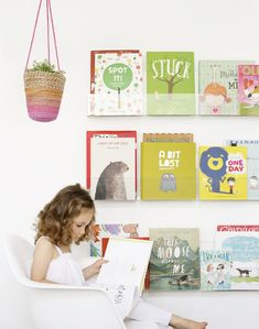 Buy clear acrylic nursery bookshelves in Australia from Ubabub. Get cool invisible bookshelves for your kids from Ubabub. Order Booksee Bookshelves online now! Acrylic Furniture, Kids Furniture, Shelf Furniture, Nursery Furniture, Deco Kids, Wall Bookshelves, Book Shelves, Modern Bookshelf, Wall Shelves