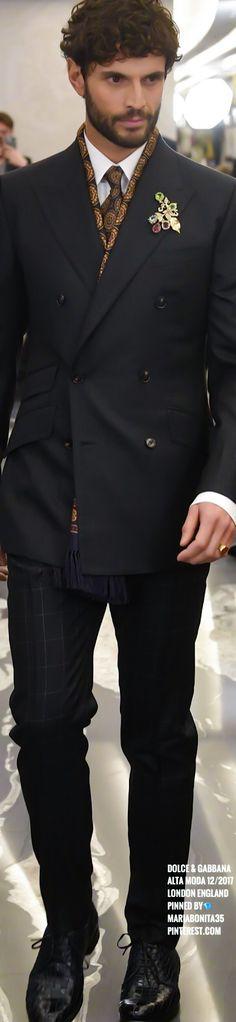Dolce & Gabbana Alta Moda London England 12/2017