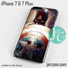The First Avenger Phone case for iPhone 7 and 7 Plus