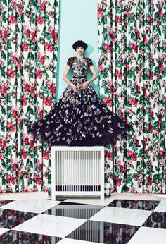 @valentino camu butterfly embroidered gown photographed by JUCO at #TheGreenbrier resort in West Virginia. http://www.greenbrier.com