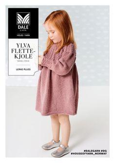 Ylva Flettekjole - Køb billigt her Knitting, Children, Crochet, Diy, Fashion, Infant Girl Clothes, Tejidos, Young Children, Moda