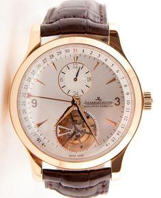 Jaeger Lecoultre Master Tourbillon 18K Rose Gold MEN'S Watch Authentic   eBay