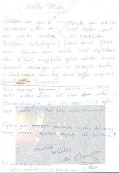 Foron moitos os visitantes que lle enviaron cartas a Man, con fotografías ou contándolle as impresións da visita ao museo. Man gardounas con agarimo, polo que hoxe forman parte da colección do museo. (Número de rexistro C.M.G.3314.1 e 3314.2) Fueron muchos los visitantes que le enviaron cartas a Man, con fotografías o contándole las impresiones de la visita al museo. Man las guardó con cariño, por lo que hoy forman parte de la colección del museo. (Número de registro C.M.G. 3314.1 y 3314.2)