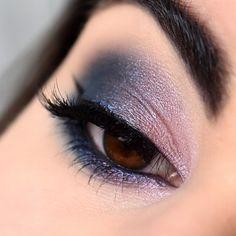 Make-up esprit galaxie avec la palette Untamed de Sigma - Marine Loves Polish and More... - Blog beauté et lifestyle Palette, Makeup Looks, Make Up, Eyes, Lifestyle, Magnetic Eyelashes, False Lashes, Bangs, Pallets
