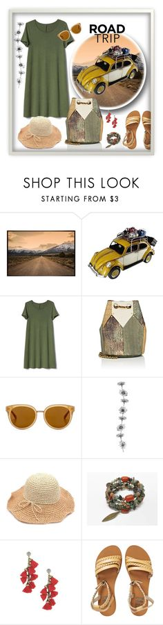 """travel boho style"" by runners ❤ liked on Polyvore featuring Pottery Barn, Gap, Jérôme Dreyfuss, Draper James and Billabong"