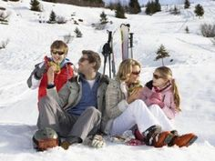 Apres ski // Skiing with the family // Skiing with kids