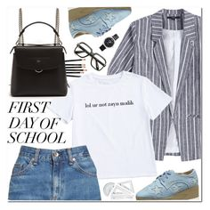 """""""First Day of School"""" by oshint ❤ liked on Polyvore featuring rag & bone/JEAN, Fendi, ZeroUV and Coach"""