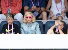 Gwen Stefani and Sons Kingston and Zuma Attend Tennis Match: See Pics of Their Cute Family Outing!  Gwen Stefani, Kingston Rossdale, Zuma Rossdale