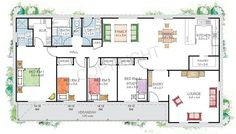 The Shoalhaven floor plan - Steel Frame Kit Home by PAAL Kit Homes - Paal Kit Homes offer easy to build steel frame kit homes for the owner builder and have display / sale centres in Sydney NSW, Melbourne VIC, Brisbane QLD, Townsville NTH QLD, Perth WA.