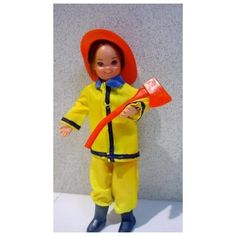 Mattel European Todd in Father's Little Helper Outfit, 1970's Vintage Barbie Dolls, 1970s, Father, Outfits, Shopping, Pai, Clothes, Style, Outfit