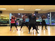 "Chris Porter FT. Pitbull - ""The Water Dance"" (Zumba With Dez) - YouTube"
