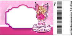 Barbie ve Kelebek Temalı Ücretsiz Parti Seti - Neşeli Süs Evim - Ücretsiz Doğum Günü Süsleri Fairy, Butterfly, Birthday, Fiestas, Birthdays, Butterflies, Dirt Bike Birthday, Angel, Birth Day