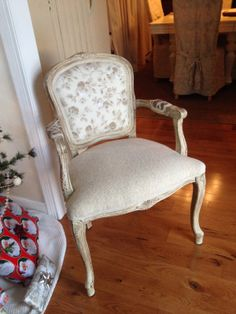 Restored Treasures Too: My French chair is finished!