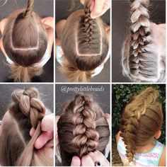 Braid Styles for Long Hair – Lavish Braids Little Girl Hairstyles, Up Hairstyles, Pretty Hairstyles, Braided Hairstyles, Hairdos, Faux Hawk Hairstyles, Coiffure Hair, Natural Hair Styles, Short Hair Styles