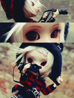 Pullip by Jun Planning... customising, clothing, photographing.