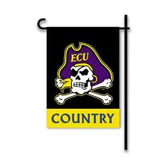 2-Sided Country Garden Flag East Carolina Pirates - NCAA