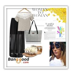 """""""#10 Banggood"""" by ahmetovic-mirzeta ❤ liked on Polyvore featuring Versace"""