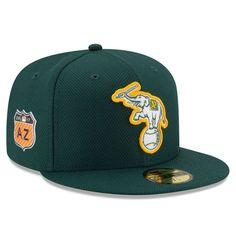 Oakland Athletics New Era 2017 Spring Training Diamond Era 59FIFTY Fitted Hat - Green