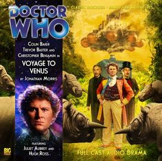 Doctor Who: Voyage to Venus from Big Finish - I did buy this, but I haven't listened to it yet.