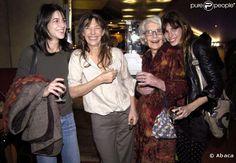 #JaneBirkin, #JudyCampbell, #LouDoillon & #CharlotteGainsbourg