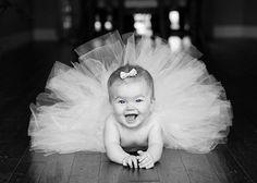 I love a baby in a tutu!