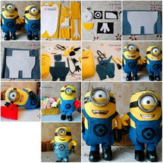How to make Minion toy Doll step by step DIY tutorial instructions, How to, how to do, diy instructions, crafts, do it yourself, diy website, art project ideas