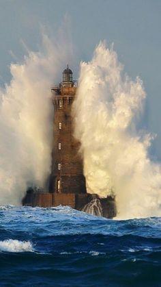 Phare du Fours, France- by Deniz Fenerleri