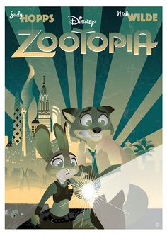 Zootopia Poster on Behance by Joseph Marsh Home Disney Movie, Disney Movie Posters, Disney Movies, Disney Magic, Disney Art, Disney Pixar, Walt Disney Animation, Animation Movies, Lizzie Mcguire Movie