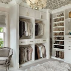 Meet with a designer who will guide you through personalizing your custom closet. Walk-ins, reach-in and luxury closet design and install. Master Closet Design, Custom Closet Design, Walk In Closet Design, Master Bedroom Closet, Custom Closets, Closet Designs, Spa Bedroom, Diy Custom Closet, Bedroom Ideas