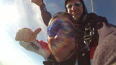 Gönn dir oder deinen Freunden einen besonderen Spass. Tandem-Fallschirmspringen  Tandemmichl