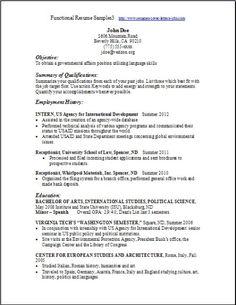 functional resume template free httpwwwresumecareerinfofunctional