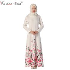 Cheap abaya designs, Buy Quality abayas for women directly from China islamic dress Suppliers: 043 New Abaya Design Elegant Muslim Long Dress Flower Pattern Islamic Dress Robe Kaftan Abayas For Women Dress Shirts For Women, Clothes For Women, Muslim Long Dress, Dress Flower, Floral Vintage, Islamic Clothing, Ethnic Fashion, Islamic Fashion, Hijab Fashion