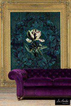 'Jardin' Wallpaper by La Aurelia