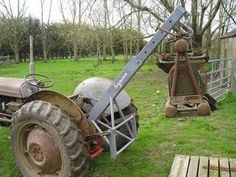 discussion in the Tractor Talk forum at Yesterday's Tractors. Antique Tractors, Vintage Tractors, Compact Tractor Attachments, Garden Tractor Attachments, Lawn Trailer, 8n Ford Tractor, Homemade Tractor, Tractor Accessories, Tractor Implements