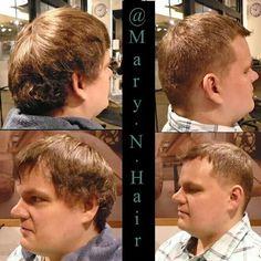Men's haircut.  #yxe #yxehairstylist #yxehair