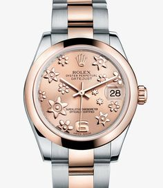 Rolex Datejust Lady 31 Watch: Everose Rolesor - combination of 904L steel and 18 ct Everose gold - 178241