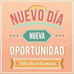 Solo tú puedes lograr lo que te propongas. ¡Feliz mitad de semana! ¡Cumple tus sueños!