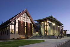 Ferris High School Gymnasium, Health and Fitness Complex, Spokane Public Schools - NAC Architecture: Architects in Seattle & Spokane, Washington, Los Angeles, California