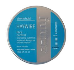Juuce Haywire , to help sculpt curly or straight hair , strong hair this product work well on thinken fine hair
