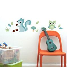 Forest boy wall decal #room #decorations