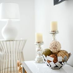 In honor of today's meetings with @marshalls for #ProjectFab ... I had to share my latest #fabfound score ... These awesome decorative balls! #chateaufh #homedecor #livingroom #decor