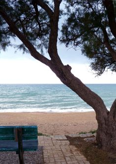 Kourouta Beach, Peloponnesus, Greece Copyright: Chris Koulis Footprints, Homeland, Beaches, Greece, Globe, Beautiful Places, Objects, Bucket, Relax