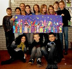 Collaborative Art Projects for the whole class to do