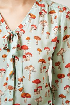Toadstool Blouse - anthropologie.com