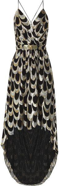 Anais Silk-blend Jacquard Dress♥✤ | Keep the Glamour | BeStayBeautiful